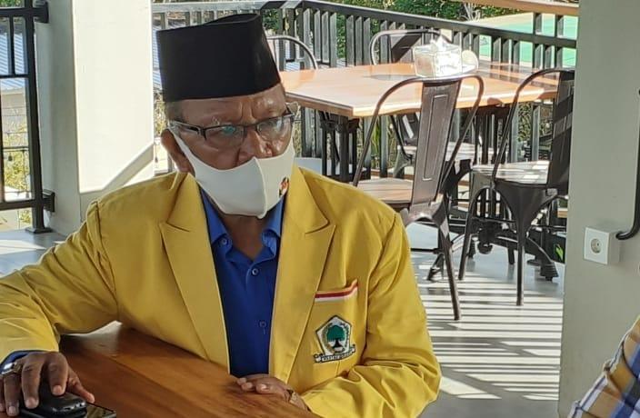 Ketua tim koalisi Partai Pengusung paket Edi - Weng, Blasius Jeramun