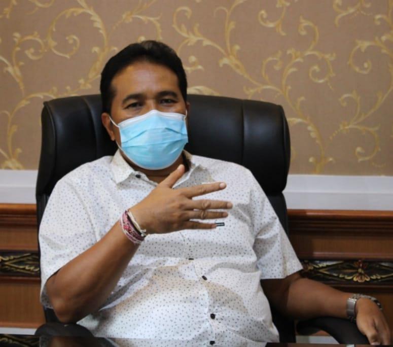 Juru bisacara Satgas penanggulangan covid-19 Kota Denpasar, I Dewa Gede Rai