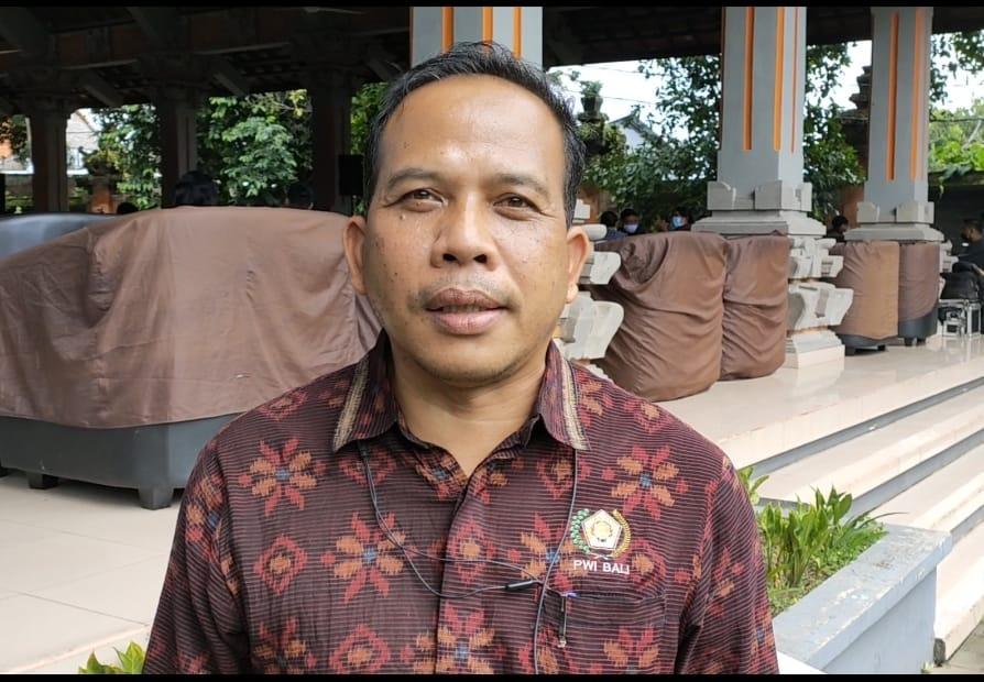 Ketua Panitia Peringatan HPN 2021 Provinsi Bali, Wayan Dira Arsana