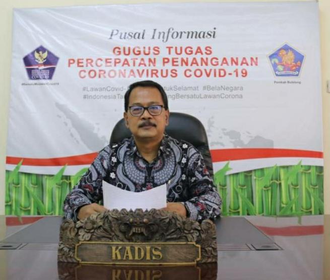 Koordinator Bidang Data dan Informasi Covid-19 Buleleng, Dr.Drs. I Ketut Suweca, M.Si