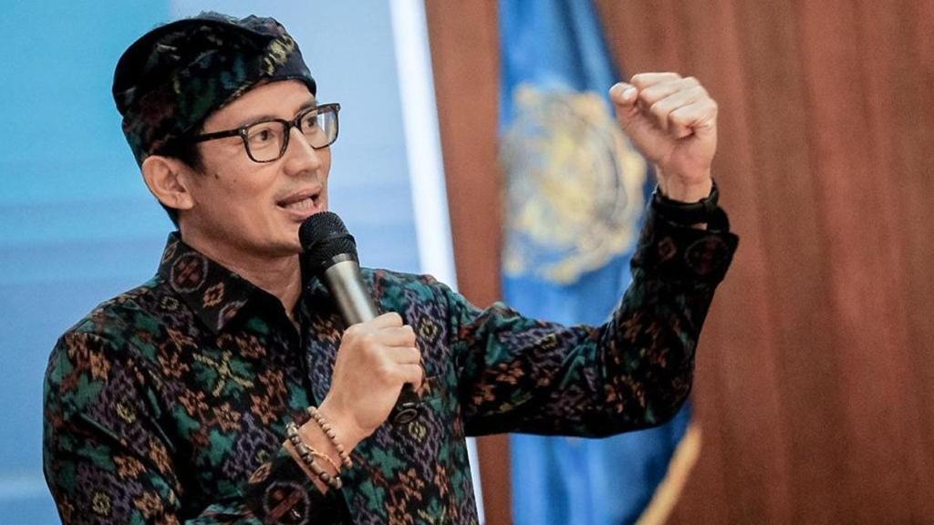 Menteri Pariwisata dan Ekonomi Kreatif Sandiaga Solahudin Uno
