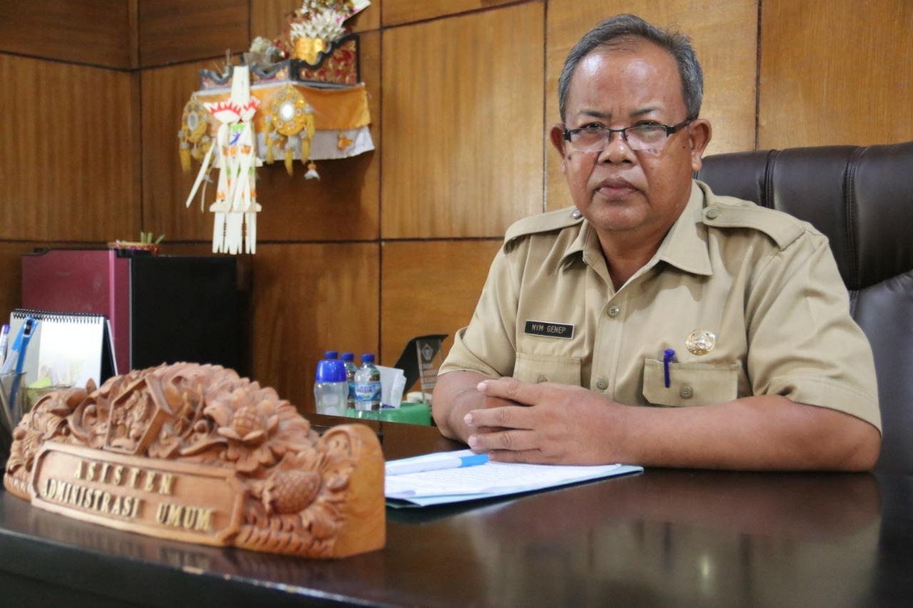 Koordinator Bidang Data dan Informasi Satuan Tugas (Satgas) Penanganan Covid-19 Kabupaten Buleleng, Ir Nyoman Genep, MT