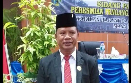 Wakil Ketua Dewan Perwakilan Rakyat Daerah (DPRD) Manggarai Barat, Darius Angkur