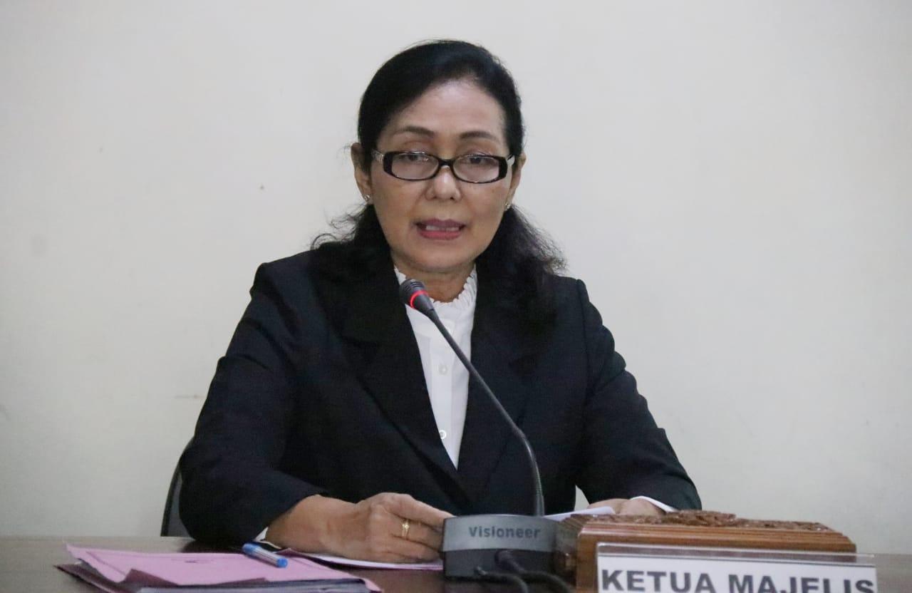 Ketua Majelis Sidang sengketa informasi publik, Ni Luh Candrawati Sari, SH., MH