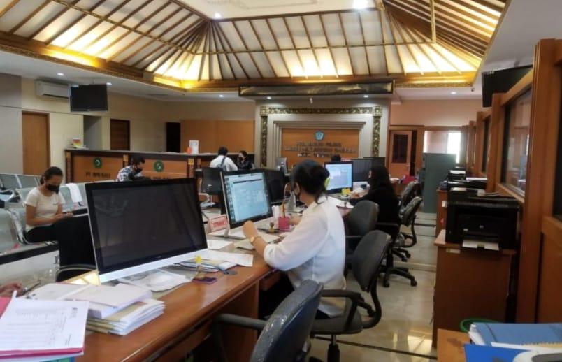 Pelayanan di Bapenda Kota Denpasar.
