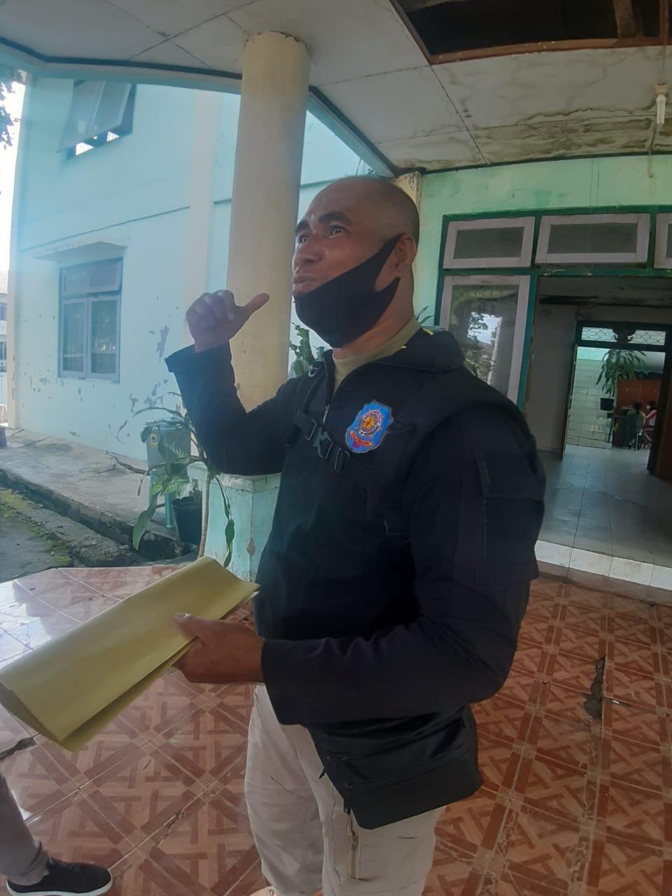 Kepela Bidang Penegakan, Satpol PP Manggarai Barat Amirulah Kuang