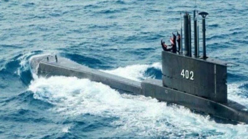 Kapal selam milik TNI AL KRI Nanggala 402