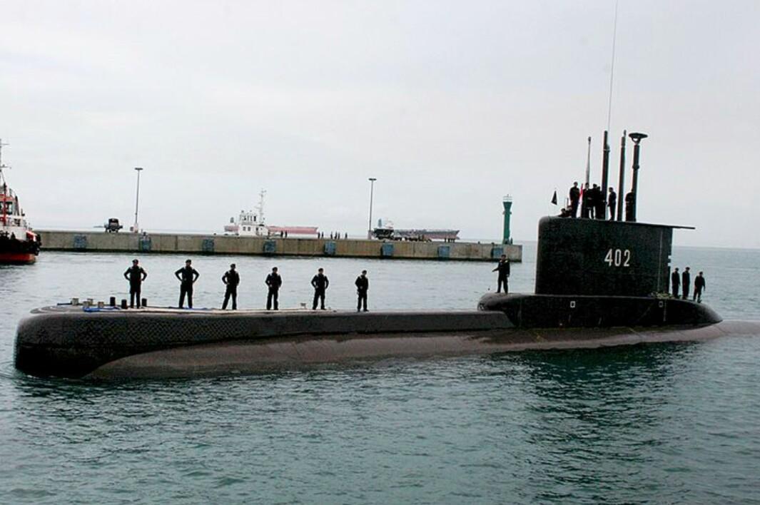 Kapal Selam TNI AL, Nanggala 402