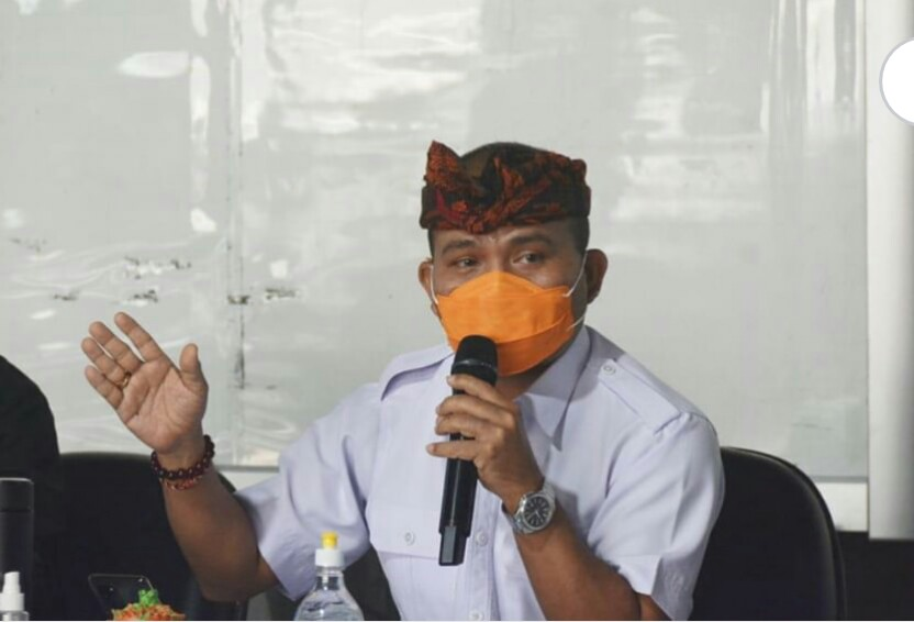 Sekretaris Satgas Percepatan Penanggulangan Covid-19 Bali, I Made Rentin
