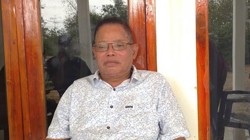 Ketua Dewan Penasehat Partai Golkar Manggarai Barat, Matheus Hamsi