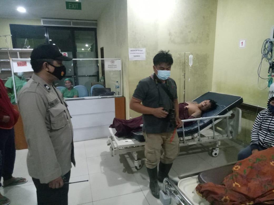Pelaku dirawat di RSUP Sanglah Denpasar karena luka setelah berupaya bunuh diri. (FOTO/Ist)