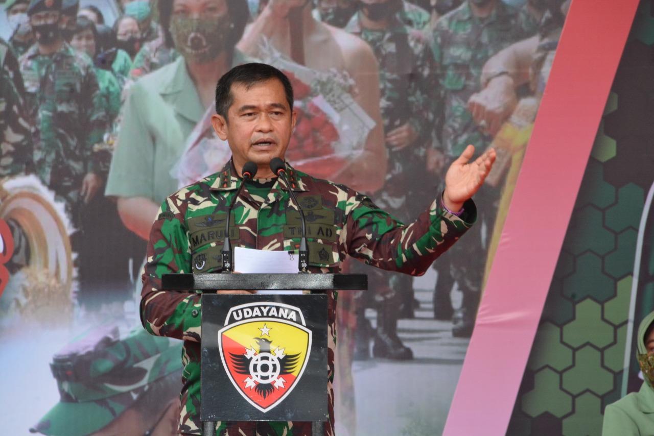 Pangdam IX/Udayana Mayjen TNI Maruli Simanjuntak, M.Sc