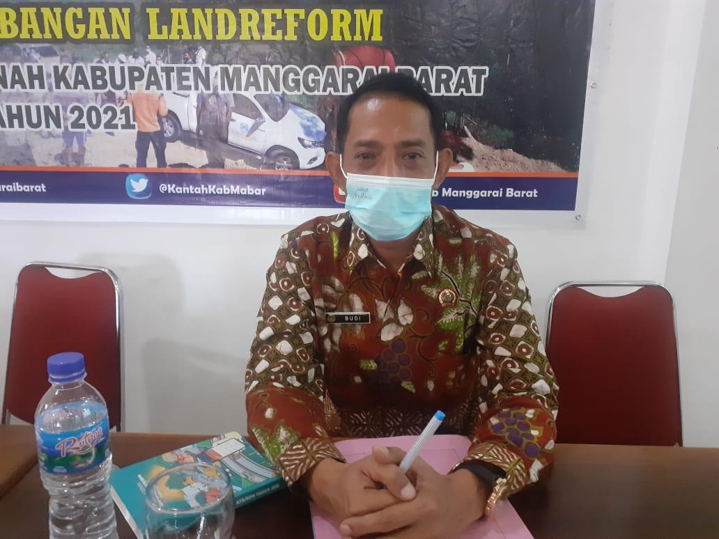 Kepala Badan Pertanahan Nasional (BPN) Kabupaten Manggarai Barat, Budi Hartanto