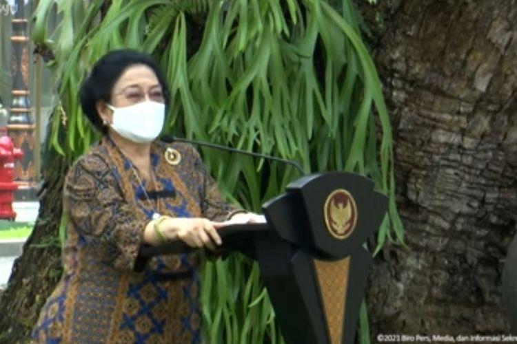 Megawati Soekarnoputri bela Jokowi