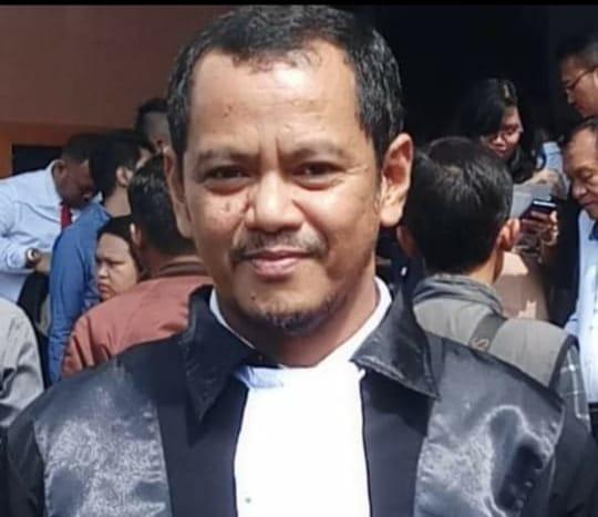 Piter Ruman selaku Kuasa Hukum dari 21 tersangka kasus Golo Mori