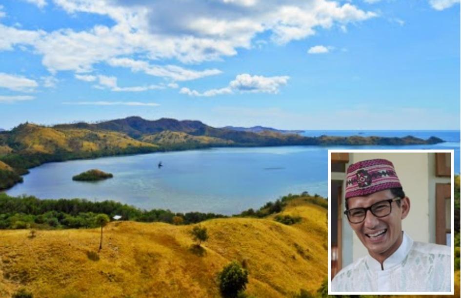 Panorama Bukit Cinta Desa golo Liiun Kecamatan Elar, Manggarai Timur.